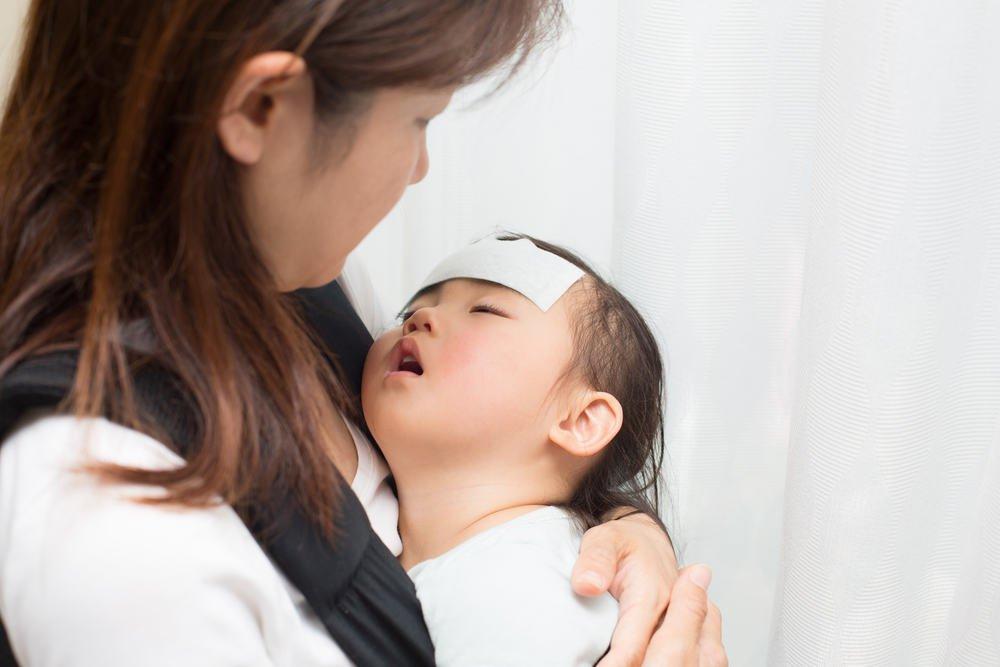 Những cơn sốt rất cao đôi khi có thể gây co giật